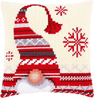 Vervaco Christmas Elf 1 Chunky Cross Stitch Cushion Panel Kit