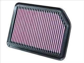 K&N 33 2361 Motorluftfilter: Hochleistung, Prämie, Abwaschbar, Ersatzfilter, Erhöhte Leistung, 2000 2015 (Grand Vitara, Escudo)