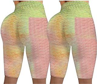 ayaso Sportlegging, shorts, hoge taille, yogabroek, ondoorzichtig, korte hardloopbroek, fitnessbroek, joggingbroek, korte ...