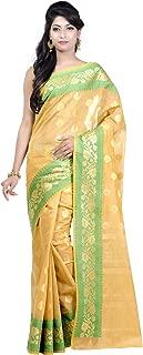 Chandrakala Women's Cotton Silk Blend Indian Ethnic Banarasi Saree with Unstitched Blousepiece(1115)