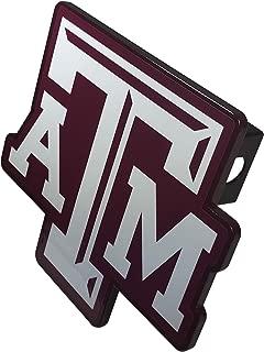 AMG Auto Emblems NCAA Solid Metal Custom Shaped Texas A&M Hitch Cover (Texas A & M)