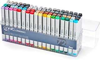 Copic Marker Lot de 72 Marqueurs de dessin Assortiment B