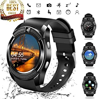 Smart Watch,martwatch Bluetooth 4.0 Message Push, Sedentary Reminder, Pedometer, Sleep Monitoring Wristband for iOS/Android Phone