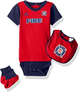 MLS Chicago Fire Boys Creeper, Red, 24 Months