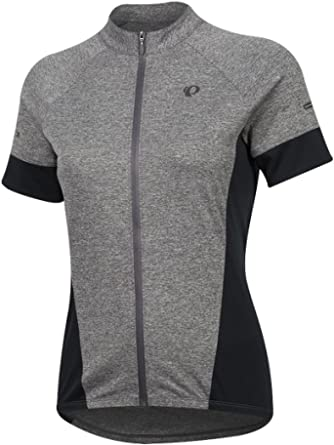 Pearl iZUMi W Select Escape ss Jersey, Smoked Pearl/Black, Large