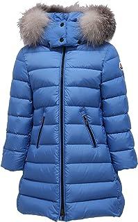 MONCLER 8062Y Piumino Bimba Girl Light Blue Abelle Jacket