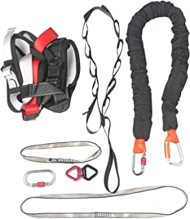 Ranbo Yoga Inversion Swing - Anti-Gravity Aerial Trapeze - Flying Hammock Sling - Relieves Back Pains, Improves Your Strength, Balance, Flexibility and Endurance