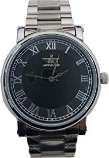 New Fande Men's Blue Dial Stainless Steel Band Watch