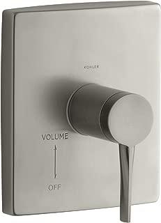 KOHLER K-T14782-4-BN Stance Volume Control Valve Trim, Vibrant Brushed Nickel