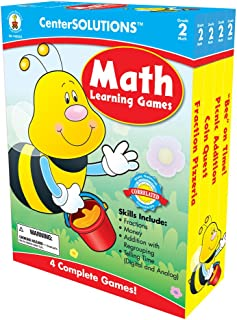 Carson-Dellosa Publishing Math Learning Games