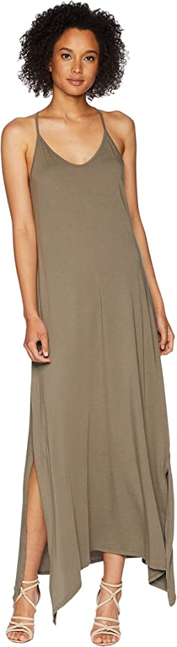 Cotton Modal Long Strappy Dress