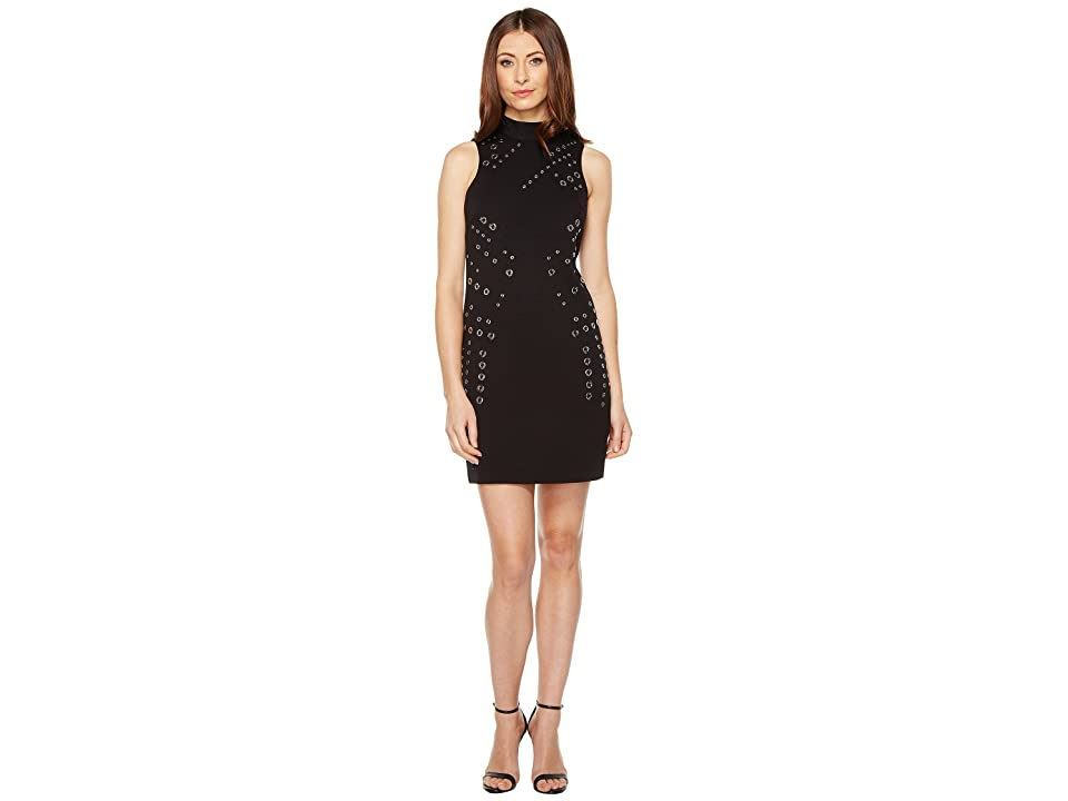 dde0bde3 Tahari by ASL Grommet Sheath Dress (Black) Women