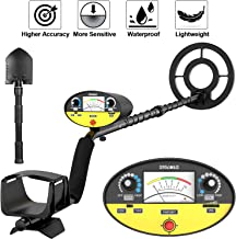SAKOBS Metal Detector for Adults - High-Accuracy Metal Detector Waterproof Professional【Disc & Tone & Full Metal & Pinpoint Modes】 Gold Finder for Treasure Hunter Underwater Kids