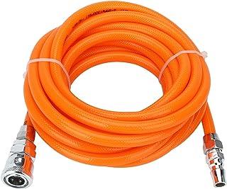 Tuyau pneumatique TEN-HIGH PU 5 mm ID x 8 mm AD orange pour outils pneumatiques traitement du bois etc.