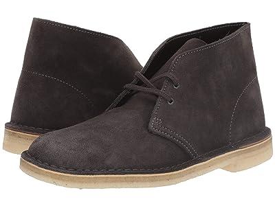 Clarks Desert Boot (Slate Grey Suede) Men