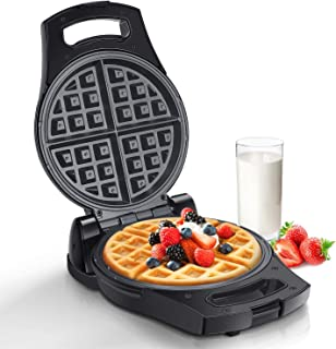 Aigostar Waffle Maker Machine, Rotatable Waffle Iron with Non-Stick Coating Deep Cooking Plates, Adjustable Temperature Co...