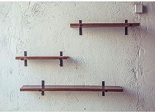 ZCNNO Rustic Home Industrial Shelves, Industrial Floating Shelves Decorative Shelf, Brackets for Shelves .Heavy Duty Chic ...