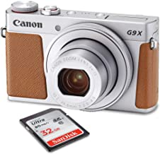 Canon PowerShot G9 X Mark II Wi-Fi Enabled Digital Camera with 32GB