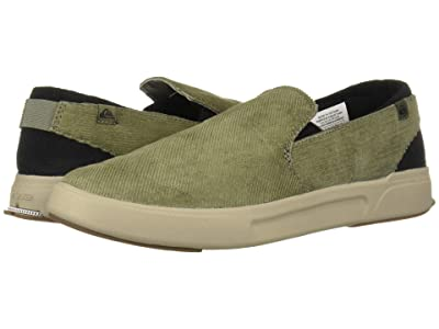 Quiksilver Surf Check II Premium (Green/Grey/Green) Men