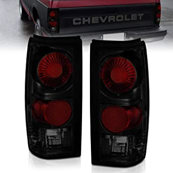 Amazon Com Chevrolet S10 Tail Lights Left Right Rear Back Tail Lamps W O Automotive