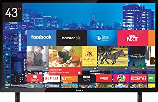 Impex 43 Inch TV Full HD LED Smart - GLORIA 43, GLORIA 43 SMART, Black