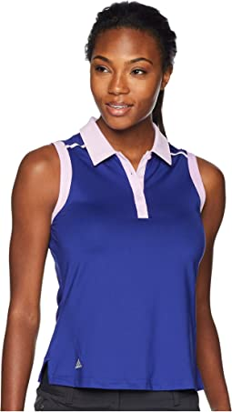 Ultimate Two-Tone Sleeveless Polo