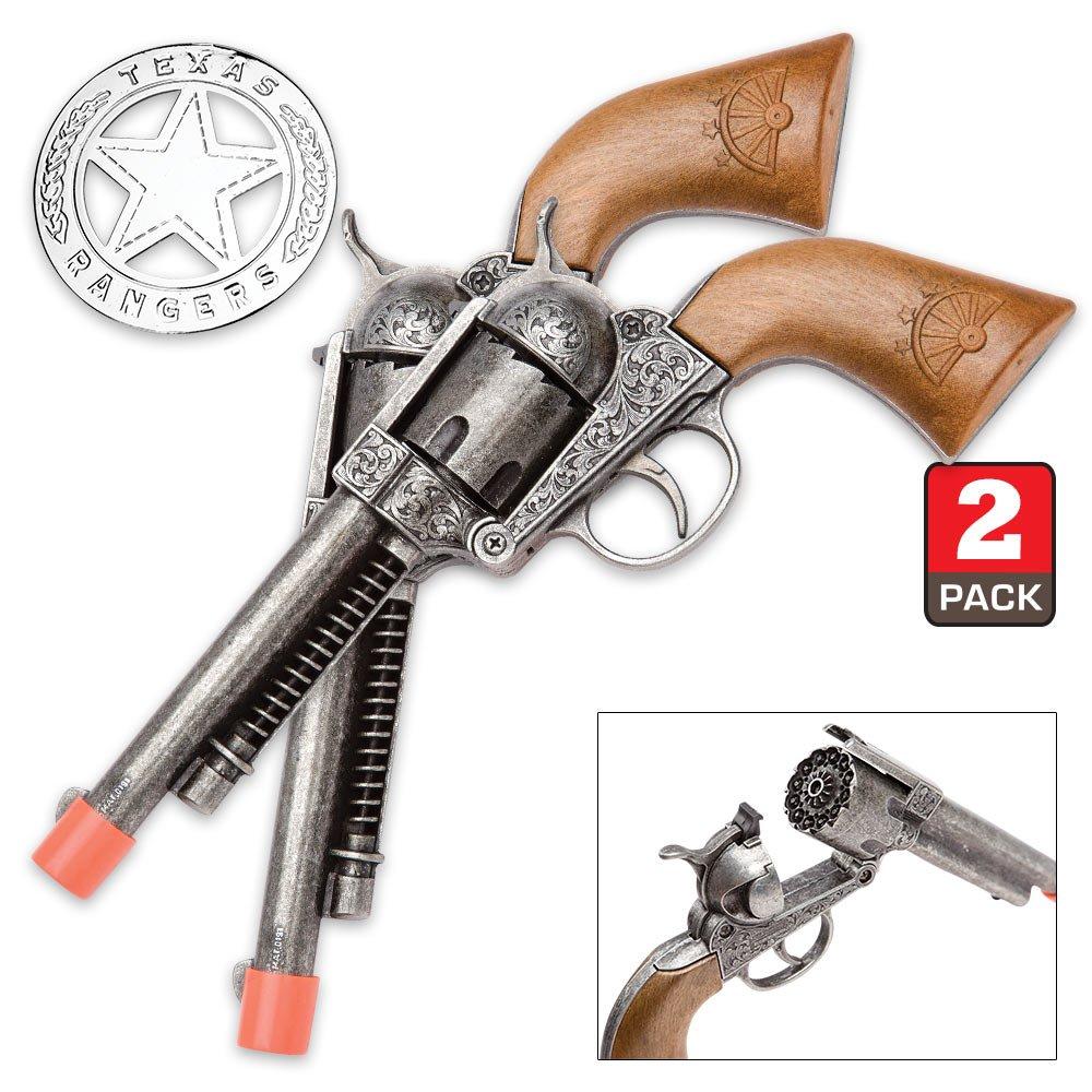 Parris Texas Ranger Double Holster