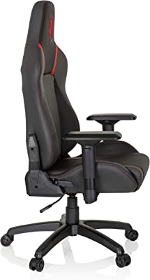 hjh OFFICE 734281 silla gaming GAMEBREAKER POLARYS piel sintética gris / rojo silla de oficina racing