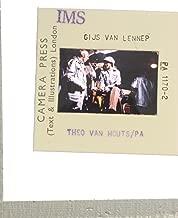 Slides photo of Jhr Gijsbert (Gijs) van Lennep holding a bottle.