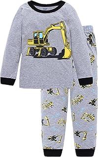 Little Hand Jungen Zweiteiliger Schlafanzug Baumwolle Lange Nachtwäsche Kinder Pyjama