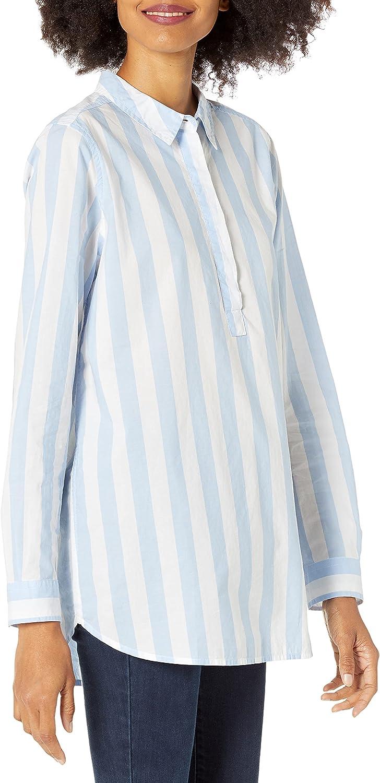 Amazon Brand - Goodthreads Women's Lightweight Cotton Popover Tunic