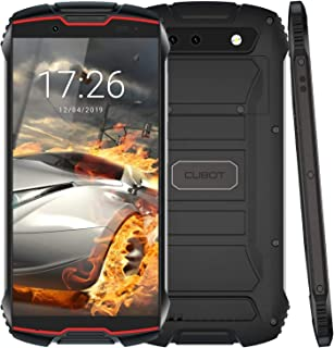 Cubot Kingkong Mini 4G Rugged Smartphone Unlocked, 4-inch Display, 3GB RAM+32GB ROM, Android 9.0, Face ID, 4G Dual-SIM, Co...