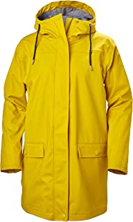 Helly Hansen Women's Dunloe Hooded Waterproof Windprood Rain Coat Jacket
