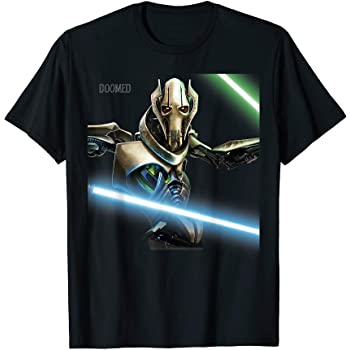 Amazon Com Star Wars Revenge Of The Sith General Grievous T Shirt Clothing
