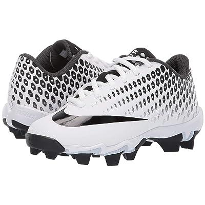 Nike Kids Vapor Ultrafly 2 Keystone Baseball (Little Kid/Big Kid) (White/Black/Black/Anthracite) Boys Shoes