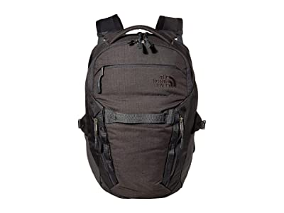 The North Face Surge Backpack (TNF Dark Grey Heather/Asphalt Grey) Backpack Bags