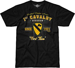 7.62 Design Army 1st Cavalry Division 'Vintage' Men's Battlespace T-Shirt …