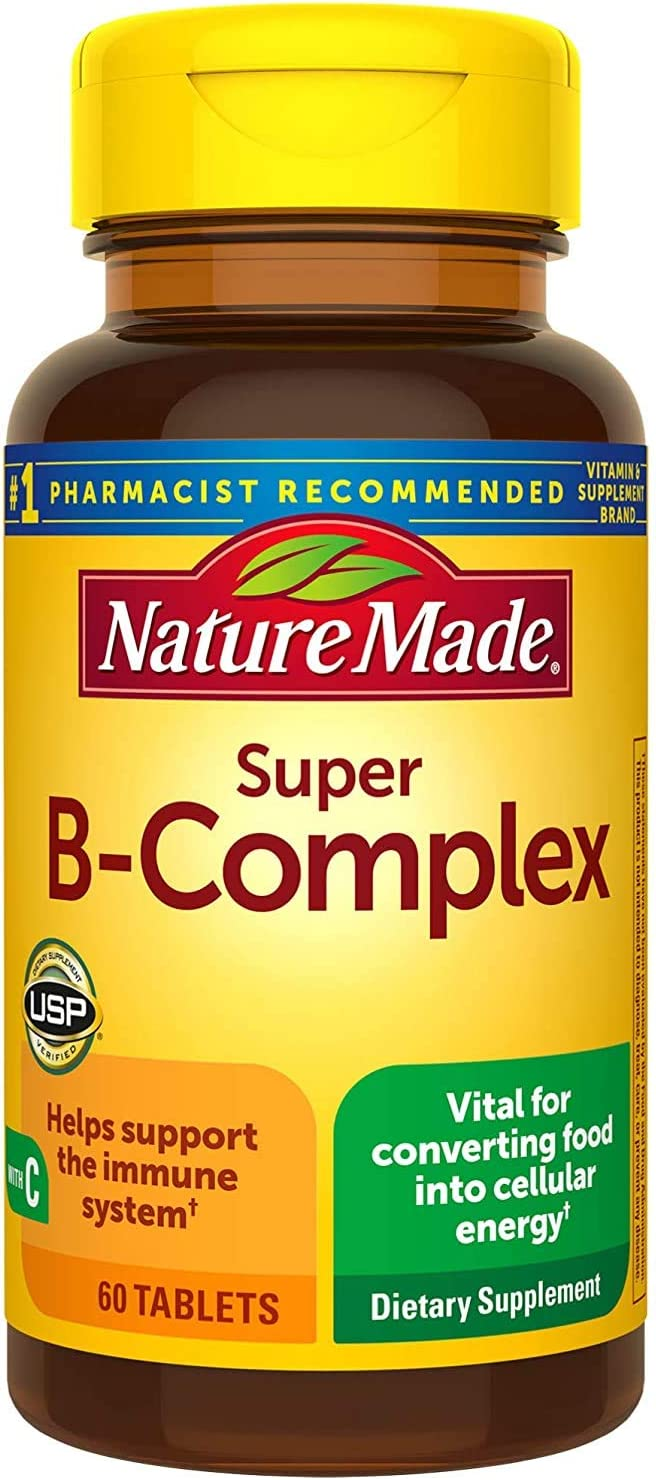 DD Store New popularity Nature Made Super Tablets Count 60 Overseas parallel import regular item B Complex