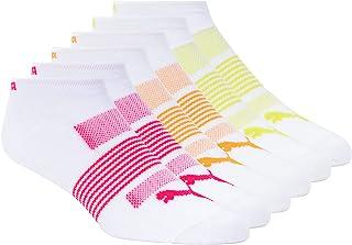 PUMA Women's 6 Pack No Show Socks