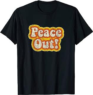 Best peace out t shirt Reviews