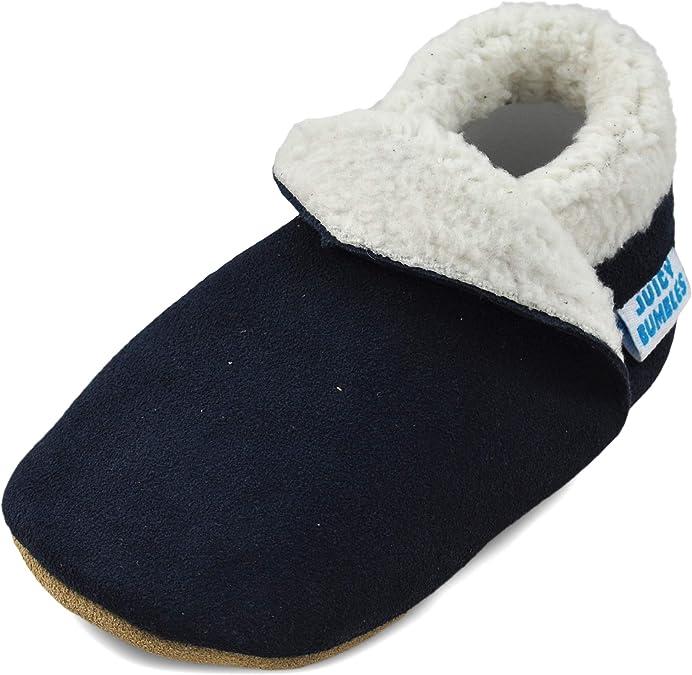 Chaussons B/éb/é Premiers Pas Chaussures Cuir Souple B/éb/é Fille Gar/çon 0-2Ans Mignon Color/ée Animaux Pantoufles