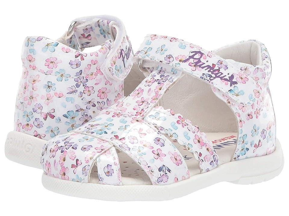 Primigi Kids PPB 34024 (Infant/Toddler) (White/Multi) Girls Shoes