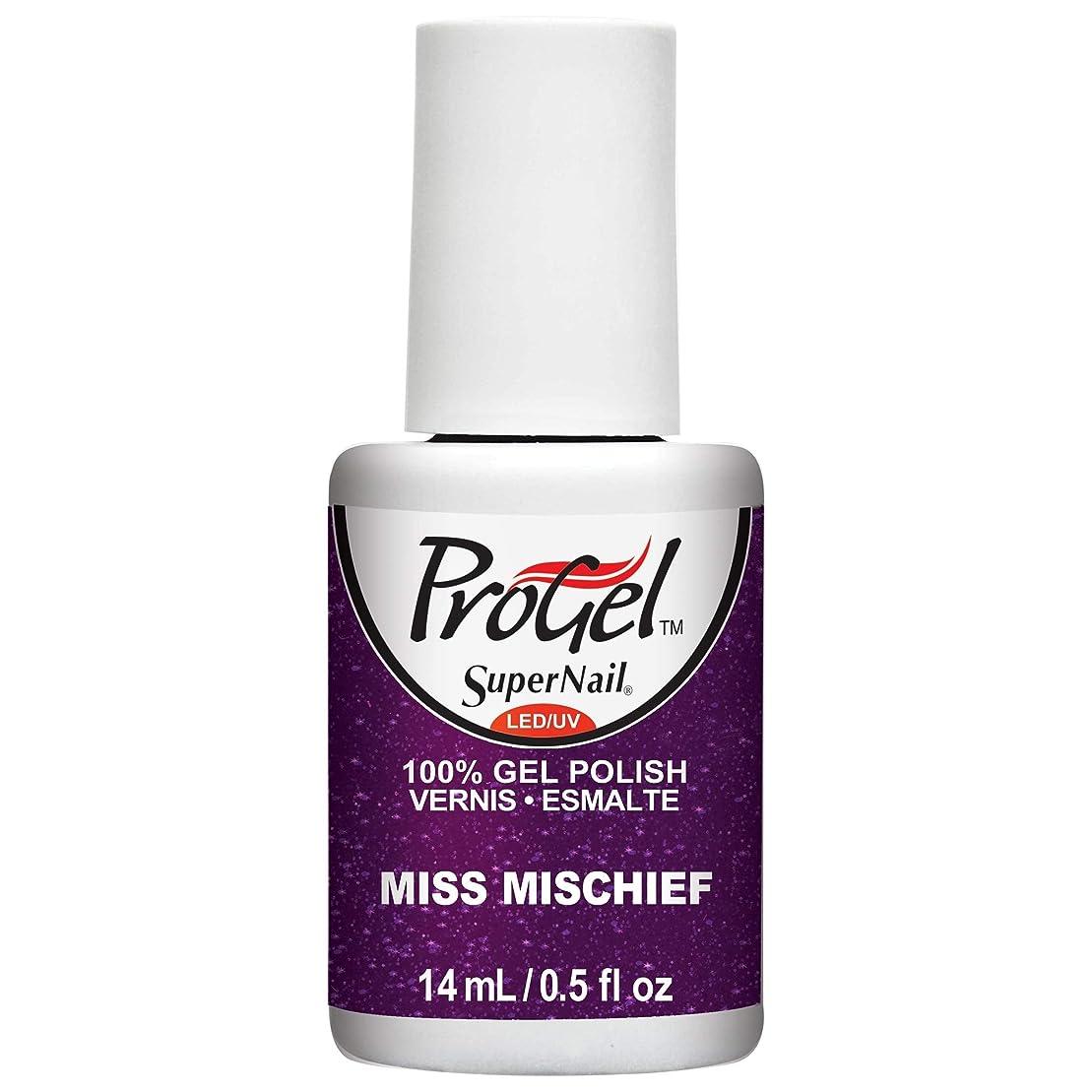 飽和するカカドゥベルトSuperNail ProGel Gel Polish - Miss Mischief - 0.5oz / 14ml