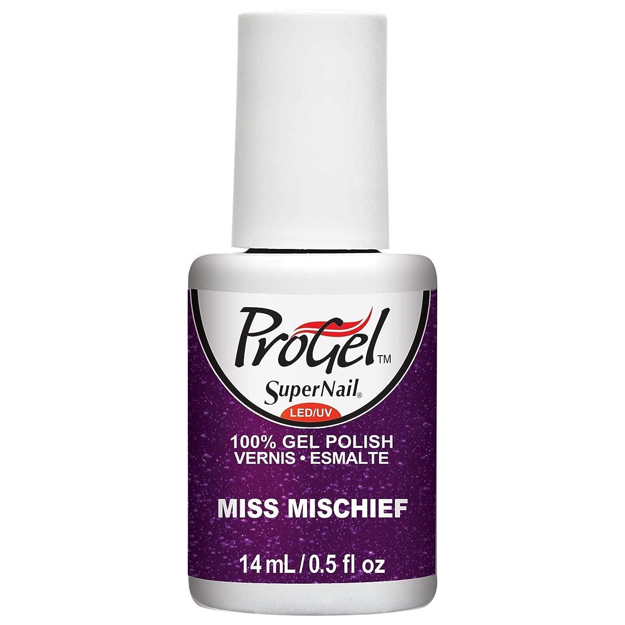 困惑雑品インポートSuperNail ProGel Gel Polish - Miss Mischief - 0.5oz / 14ml
