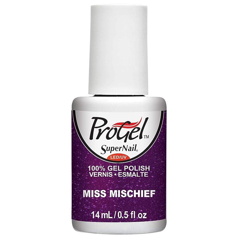 計り知れない結婚した尋ねるSuperNail ProGel Gel Polish - Miss Mischief - 0.5oz / 14ml