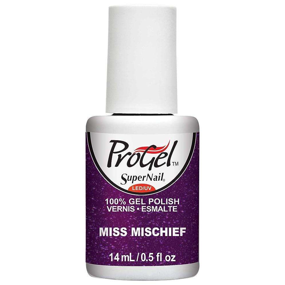 造船クリップ蝶領収書SuperNail ProGel Gel Polish - Miss Mischief - 0.5oz / 14ml