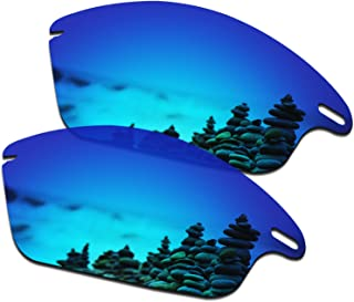 SmartVLT Men's Replacement Lenses for Oakley Fast Jacket OO9097 Sunglass - More Options