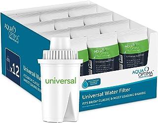 Aqua Optima RUF916 universellt vattenfilter, 12-pack