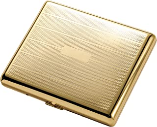 Visol Products Pierre Polished Cigarette Case, Gold