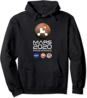 Logo Mars Perseverance Planet Mars Sweat à Capuche